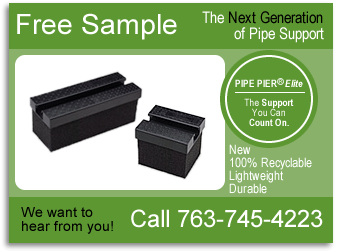 PIPE PIER® Call For A Free Sample